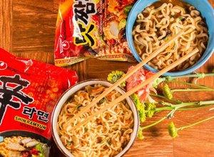 Instant Noodle Soep