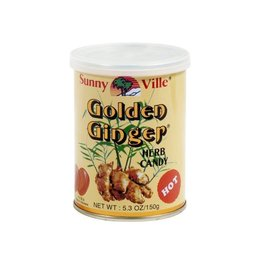 Golden Ginger gembersnoepjes HOT 150g
