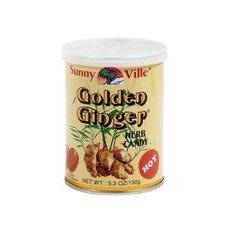 Golden Ginger gembersnoepjes HOT 150g