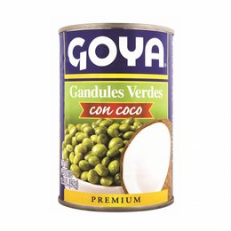 Goya Goya Green Pigeon Peas with Coconut 439g.