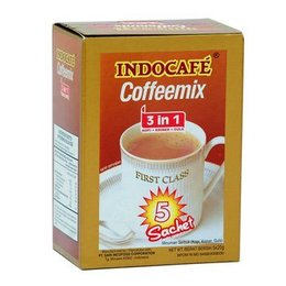 Indocafé Coffeemix 3 in 1 - 5 sachets