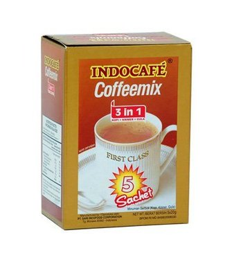 Indocafe Indocafé Coffeemix 3 in 1 - 5 sachets
