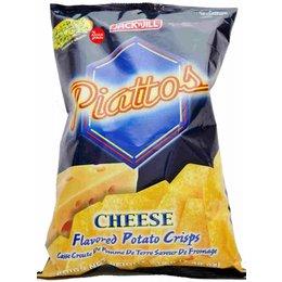 Piatto cheese flavored potato chips