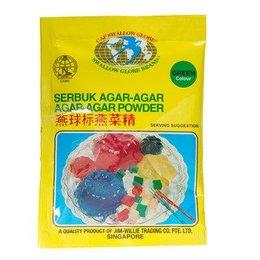 Agar-Agar Geleermiddel groen 7 gram