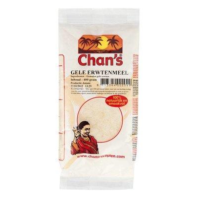 Chan's Gele erwtenmeel 400 gram