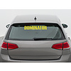 Dominator DOMINATOR CAR STICKER
