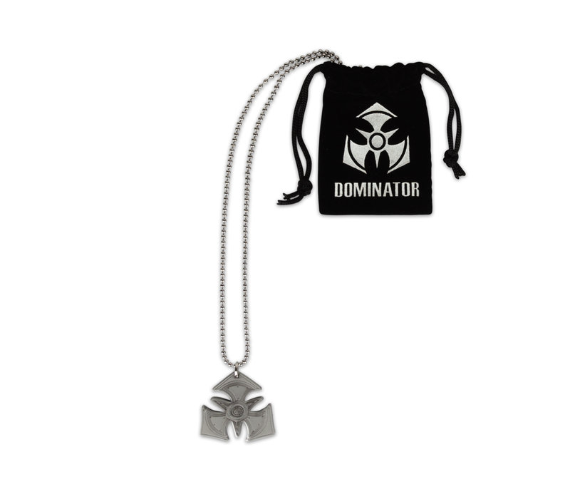 DOMINATOR NECKLACE SILVER