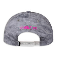 DOMINATOR BASEBALL CAP GREY/PINK