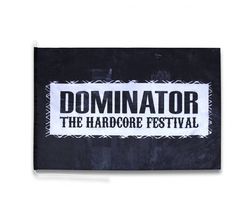 DOMINATOR FLAG BLACK/WHITE