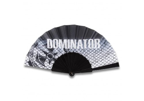 DOMINATOR HANDFAN BLACK ARTWORK
