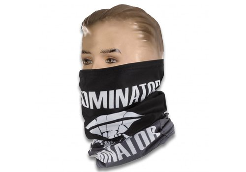 DOMINATOR FACE SCARF BLACK