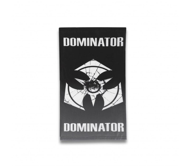 DOMINATOR FACE SCARF BLACK