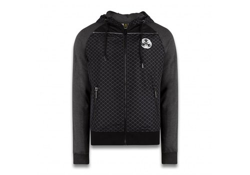 Dominator DOMINATOR NYLON ZIP SWEATER BLACK
