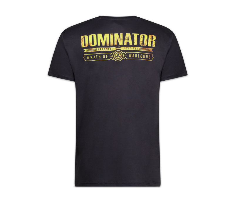DOMINATOR THEME T-SHIRT BLACK