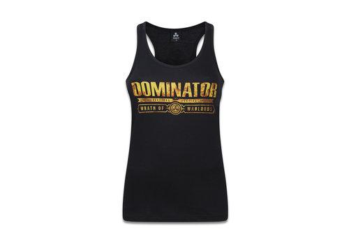Dominator DOMINATOR TANKTOP BLACK/YELLOW