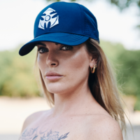 Dominator baseball cap navy/white