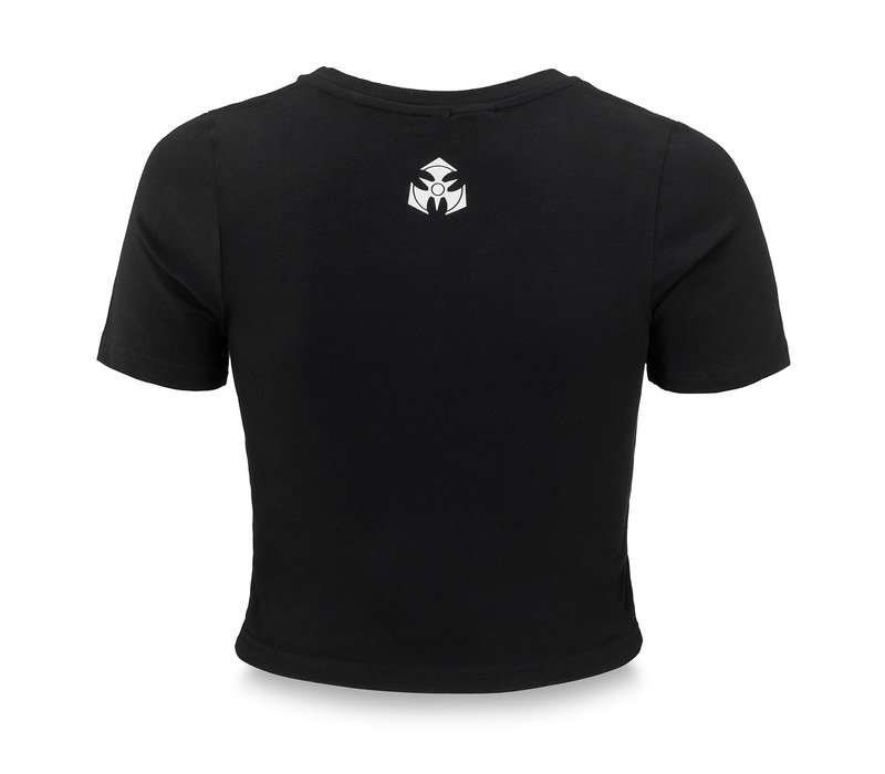 Dominator short tee black/white