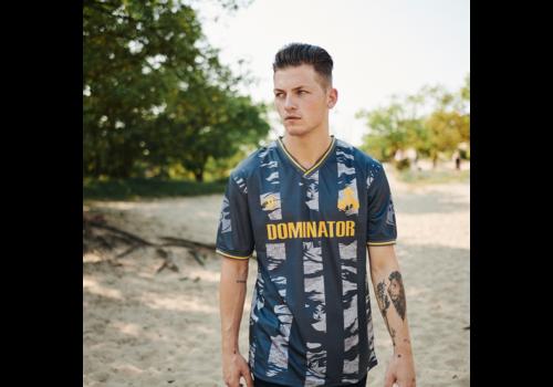 Dominator Dominator soccer shirt black/dessert