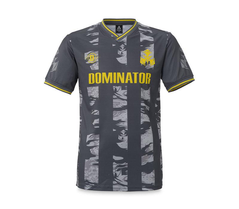 Dominator soccer shirt black/dessert