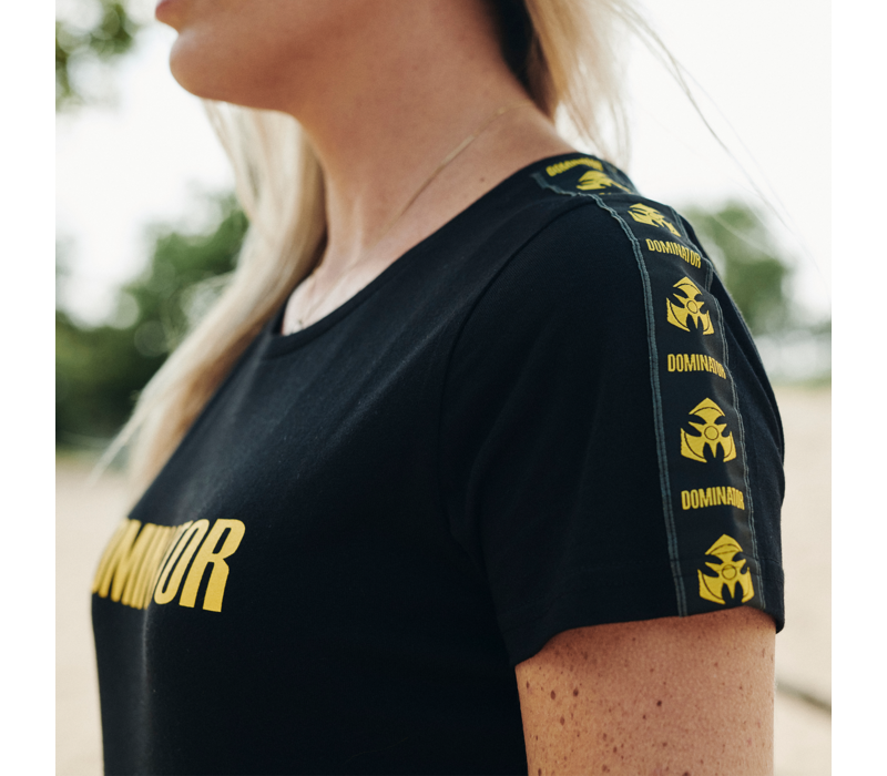 Dominator t-shirt black/yellow