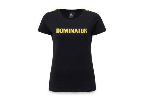 Dominator Dominator t-shirt black/yellow