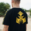 Dominator Dominator t-shirt black/yellow