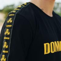 Dominator t-shirt black/yellow