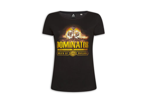 Dominator DOMINATOR LINE UP T-SHIRT BLACK
