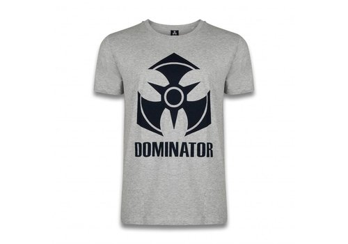 DOMINATOR T-SHIRT HEATHER GREY