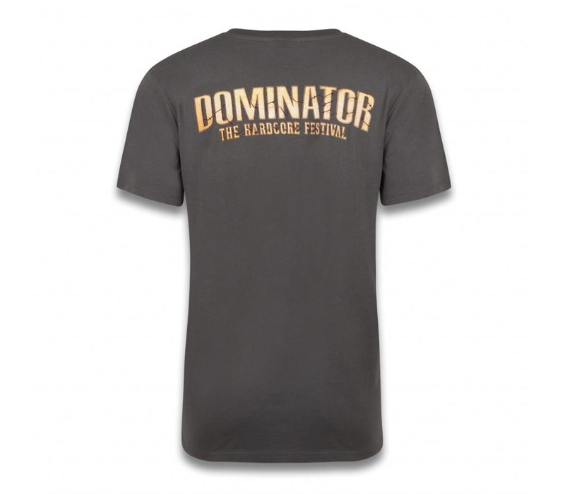 DOMINATOR THEME T-SHIRT ANTHRACITE