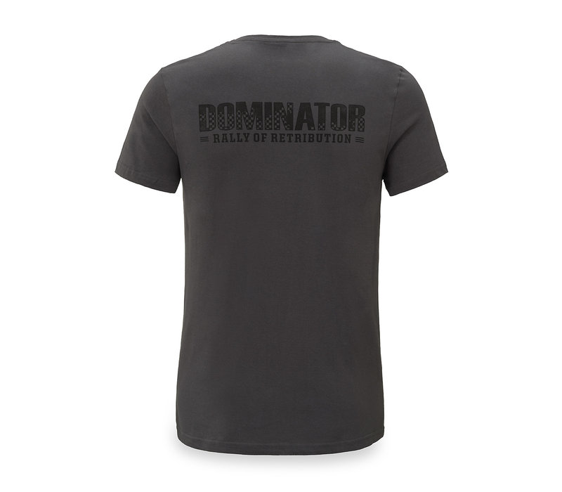 Dominator t-shirt grey/black