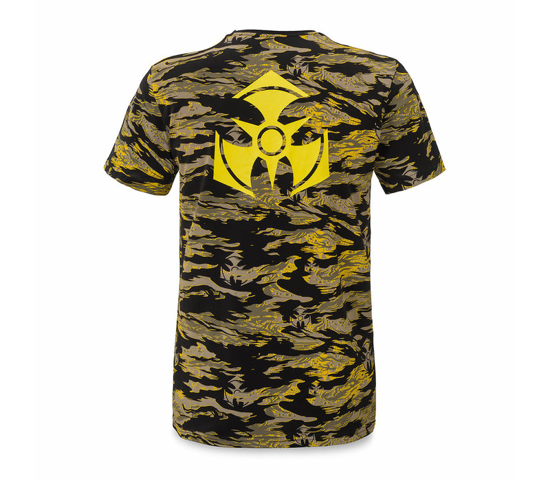 Dominator t-shirt yellow/dessert