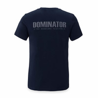 Dominator t-shirt navy/grey