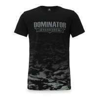 Dominator t-shirt black/dessert