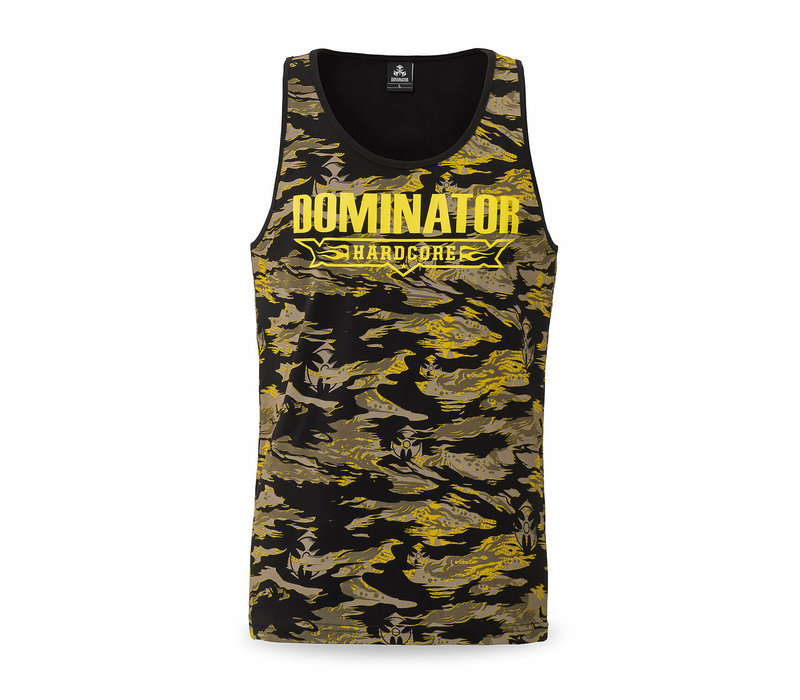 Dominator tanktop yellow/dessert
