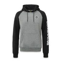 Dominator hoodie grey/black