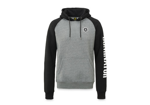 Dominator Dominator hoodie grey/black