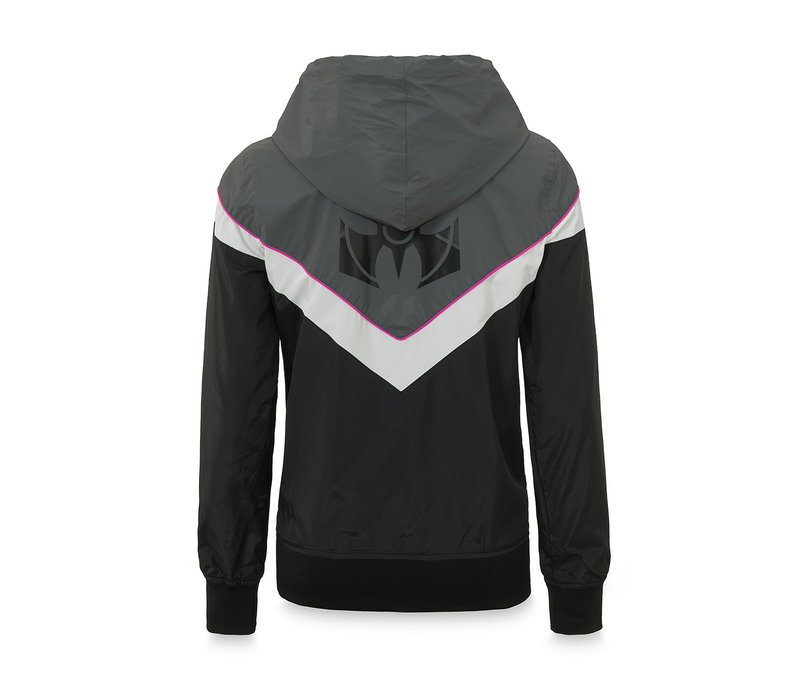 Dominator wind jacket black/grey