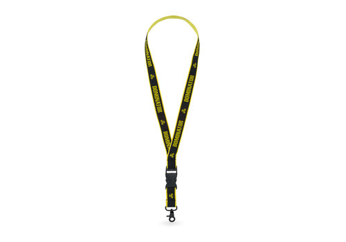 Dominator Dominator lanyard black/yellow