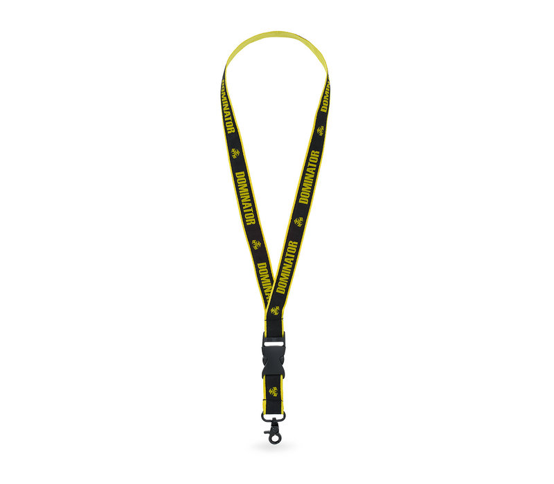 Dominator lanyard black/yellow