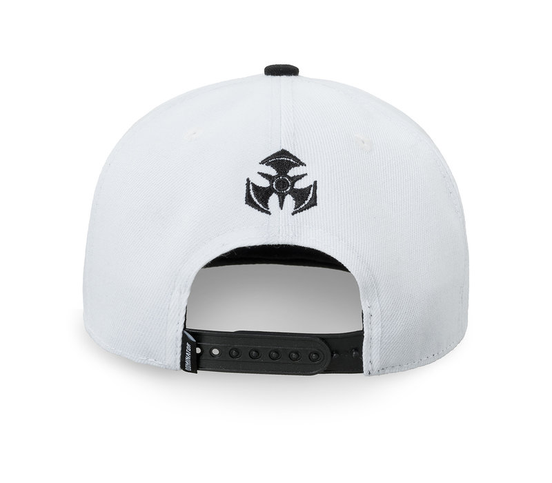 Dominator snapback white/black