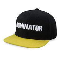 Dominator snapback black/yellow