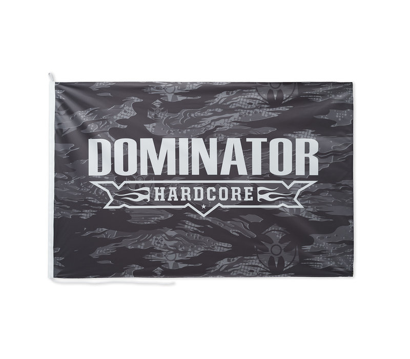 Dominator flag grey/white