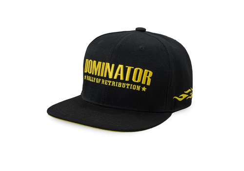 Dominator Dominator snapback black/yellow