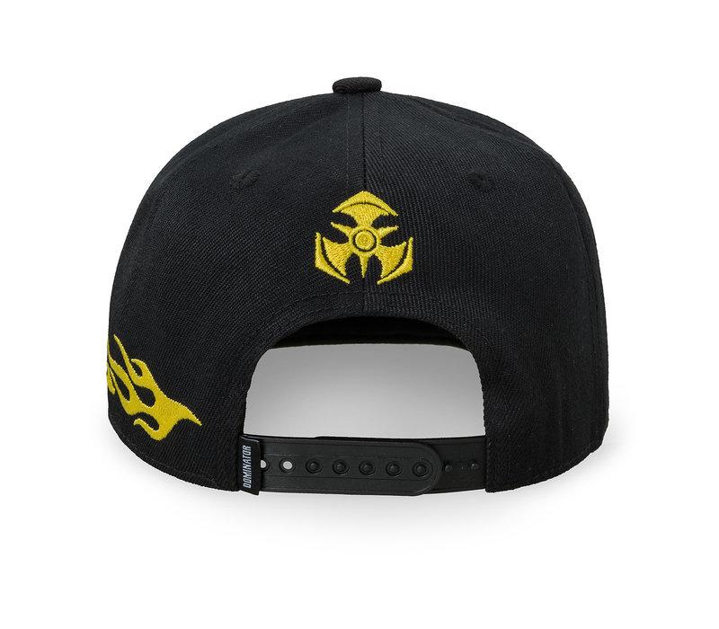 Dominator snapback black/yellow