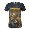 Dominator Dominator theme t-shirt grey