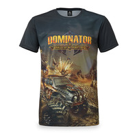 Dominator theme t-shirt grey
