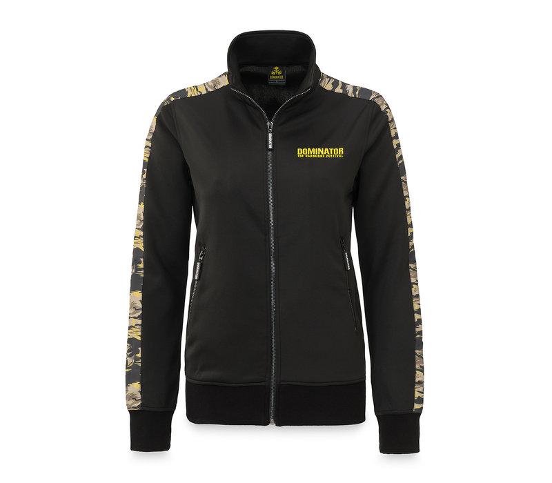 Dominator track jacket black/dessert
