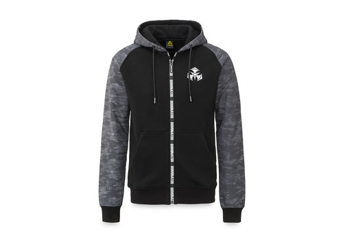 Dominator Dominator hooded zip black/dessert