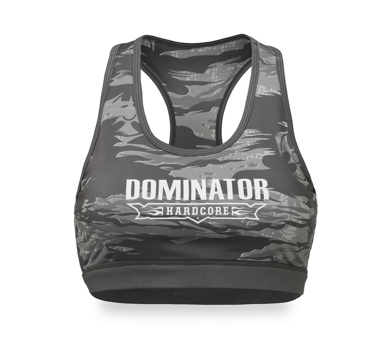 Dominator sport bra grey/dessert